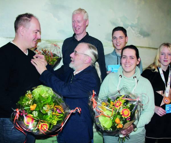Bloemen voor de kampioenen