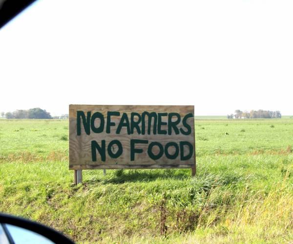 Boereprotest oan 'e wei