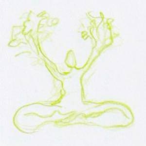 Verfrissende lente yoga