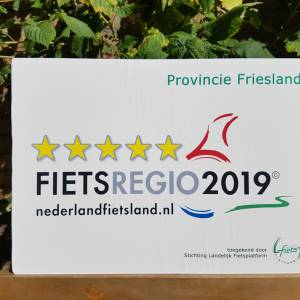 Fryslân krijgt wederom de hoogste score in de Kwaliteitsmonitor Fietsregio's