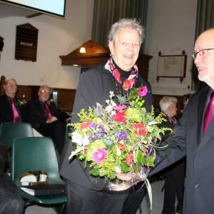 Zeventig jaar koor Juliana in Burdaard trouw