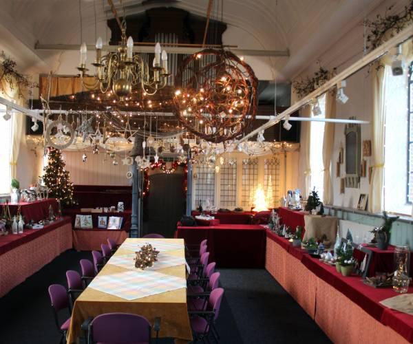 Kerst/winterfair voor behoud Catharinatsjerke Jislum
