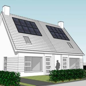 Bouw acht nieuwe huurwoningen aan Oudhuisterwegje in Marrum van start