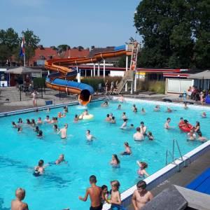 Prima zomer voor openluchtbad