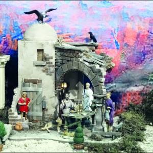 Ferwerter kerstdiorama blijft in het museumpark Orientalis